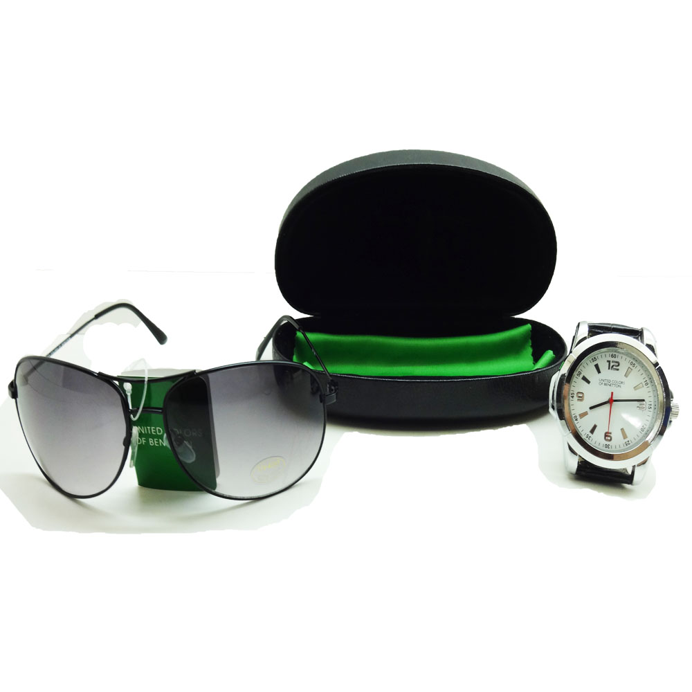 Sun Glass & Watch