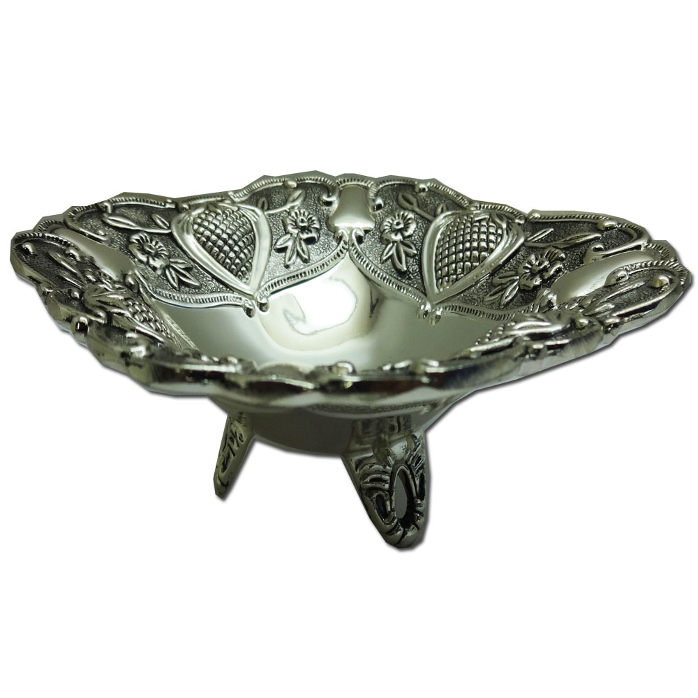 Stainless Steel Decorative Grapes Dish