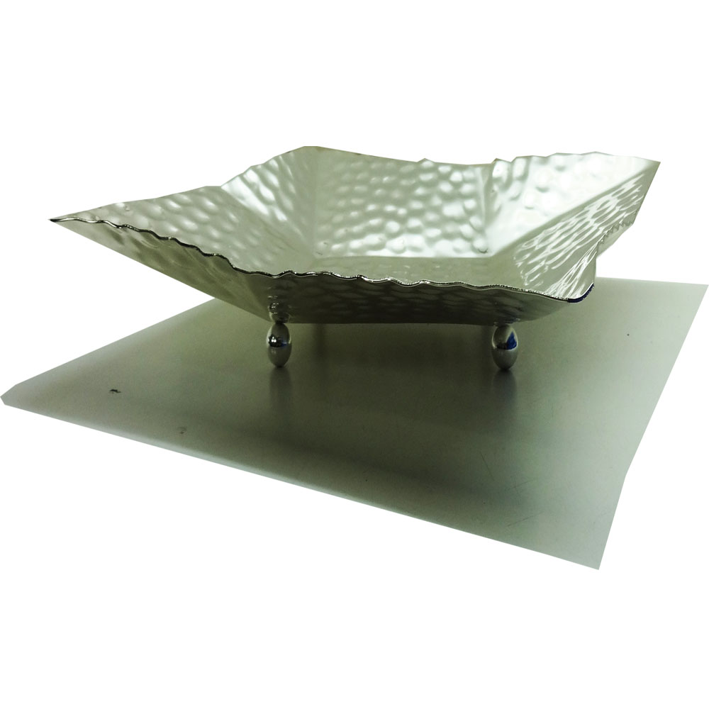 Large Stainless Steel Fruit Dish