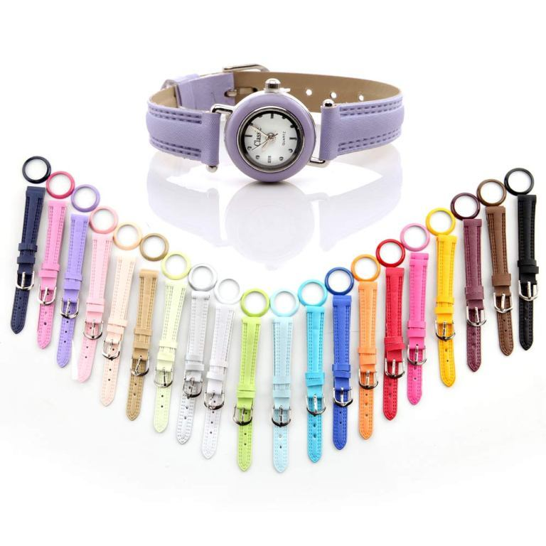 Interchangeable Watch Set (31 Straps & Rings)
