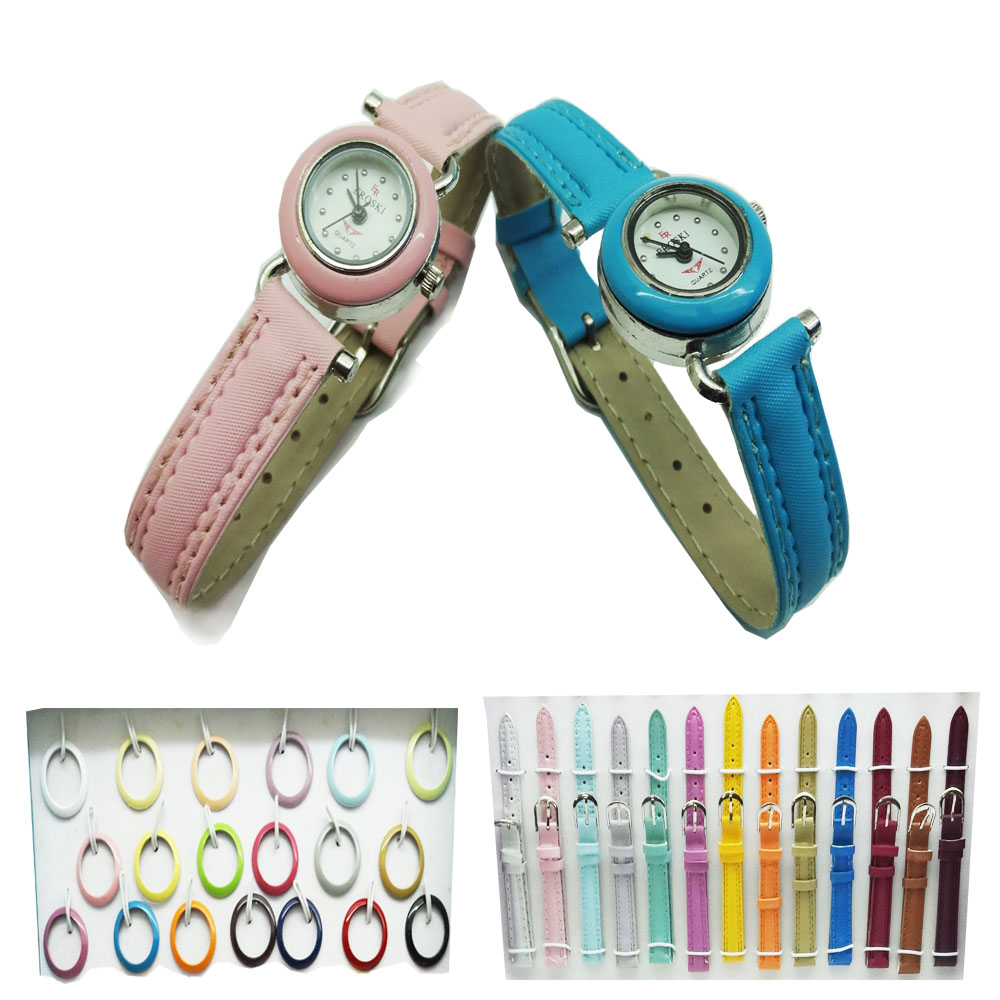 Interchangeable Watch Set (51 Straps & Rings)