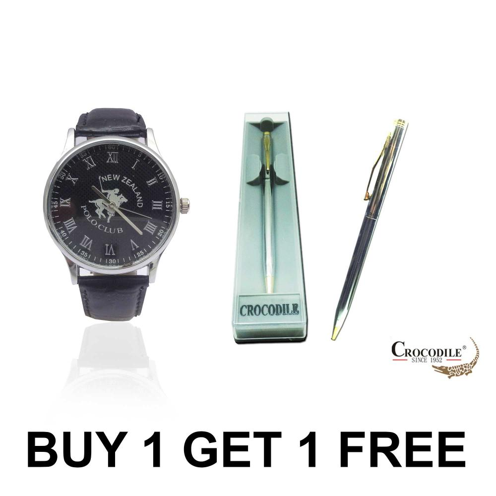 Buy a NZPC Watch and Get a Crocodile Pen Free