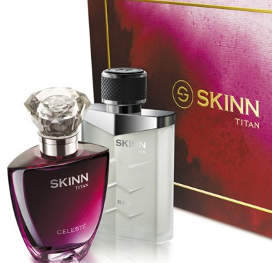 Titan Skinn 50ml Combo Pack Raw Men & Celeste Woman