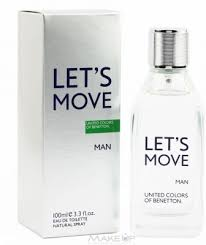 Lets Move By Benetton EDT -100ml For Men