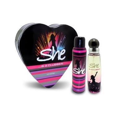 Archies She Is A Clubber Gift Set