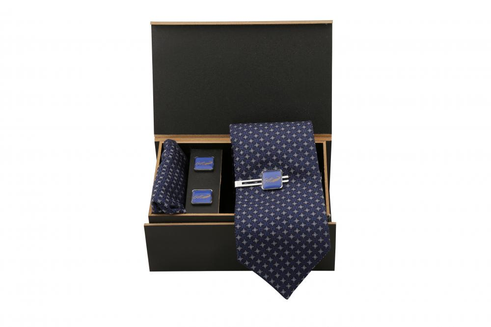 CROCODILE TIE & CUFF-LINKS SET